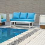 outdoor pool hotel furniture