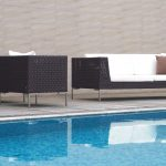swimming pool furniture with outdoor cushions