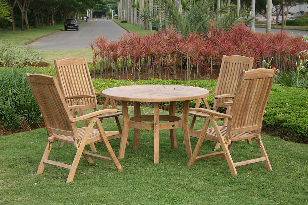 outside table and chair sets for gardens