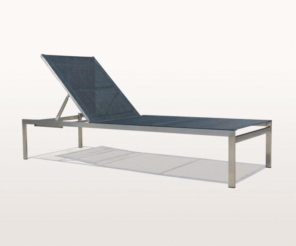 aluminium sunlounger garden furniture