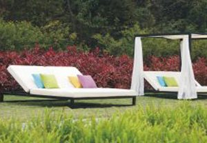 outdoor sunbeds rental